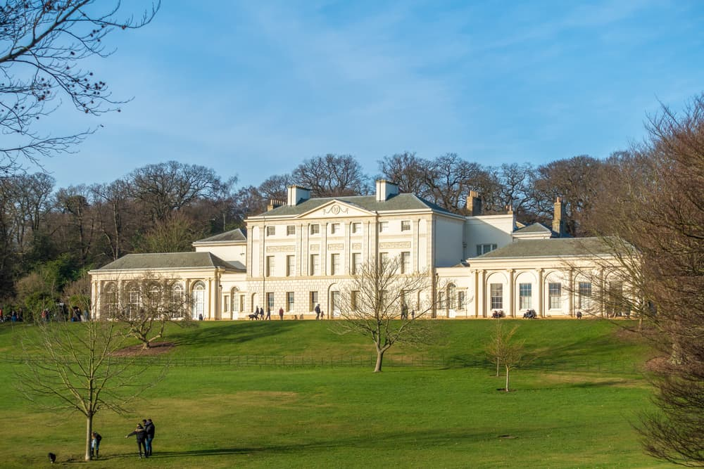 Kenwood House in Hampstead Heath London
