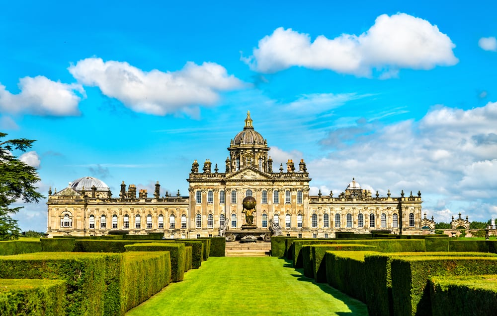 Castle Howard in North Yorkshire in England