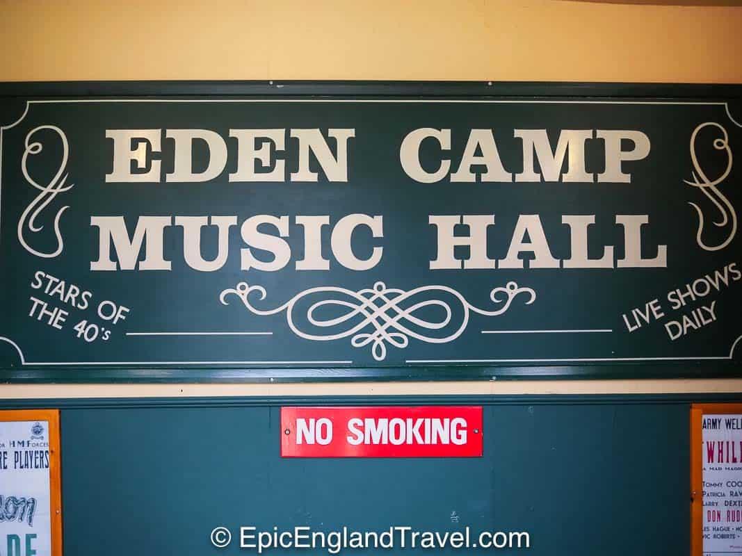 Eden Camp Music Hall