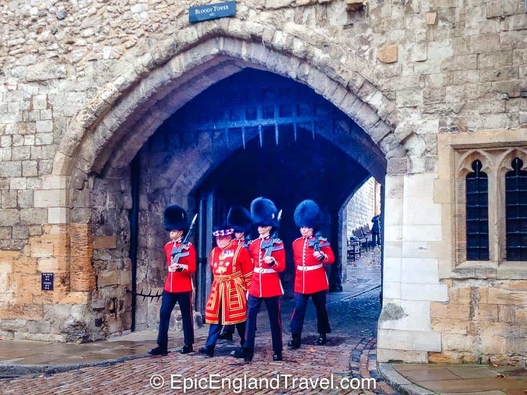 opening of the tower of london in the morning