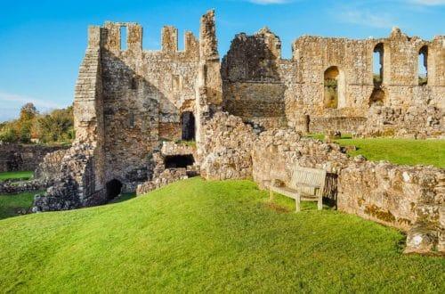The ruins of Rievaulx Abbey