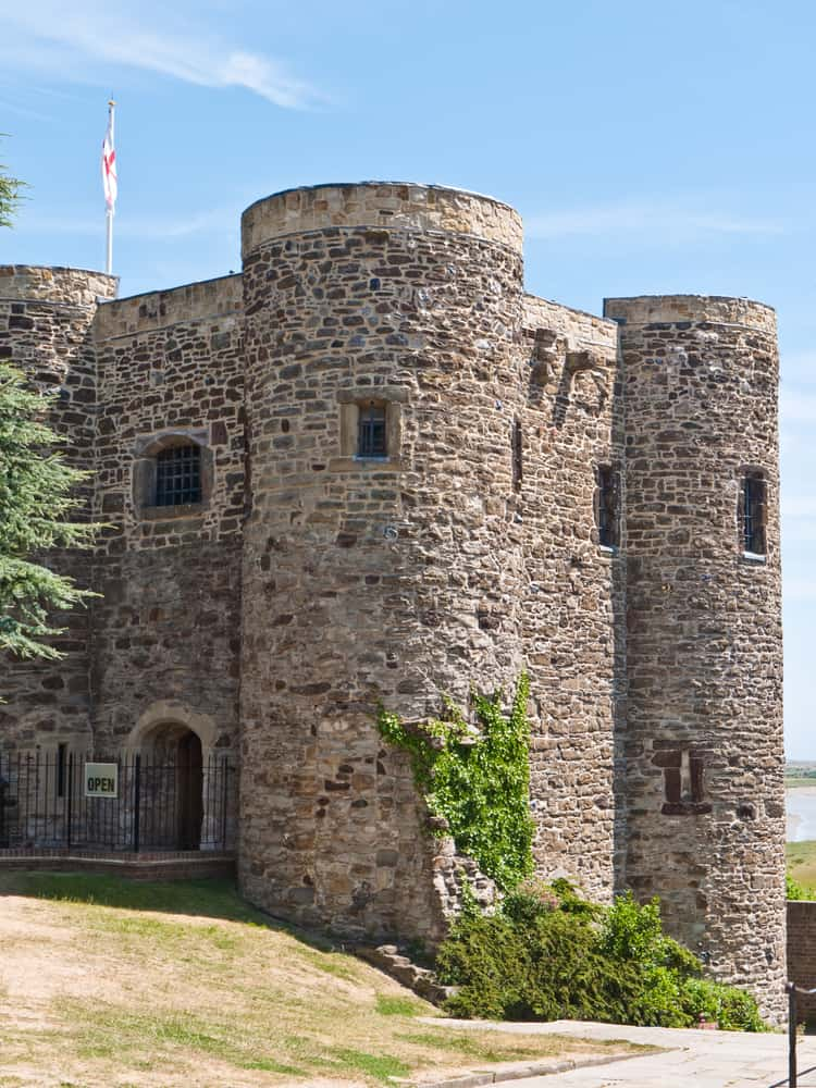 The Ypres Tower at Rye Castle in East Sussex