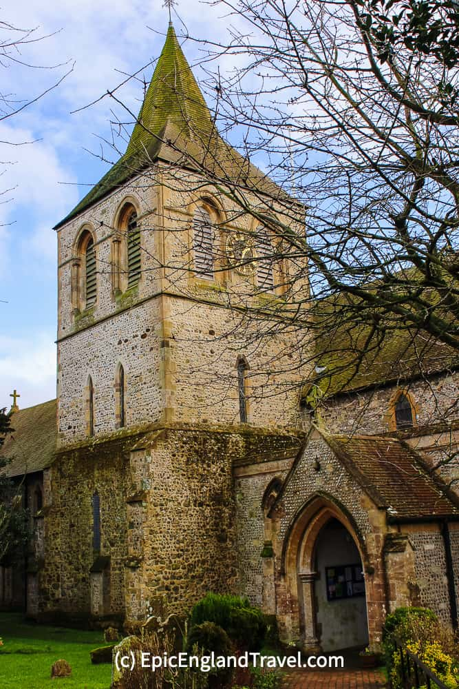 Norman St. Nicholas Church in Pevensey is an example of Early English architecture.