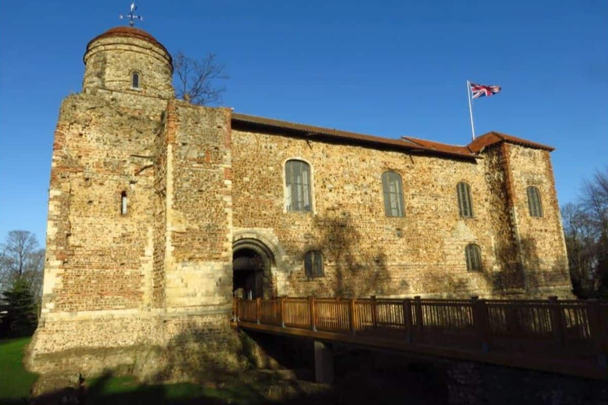 Colchester Castle in Essex England