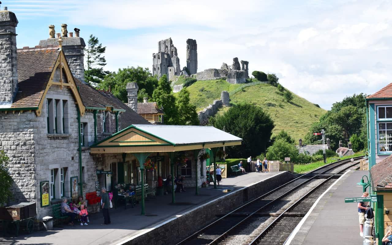 Corfe Castle and Railway