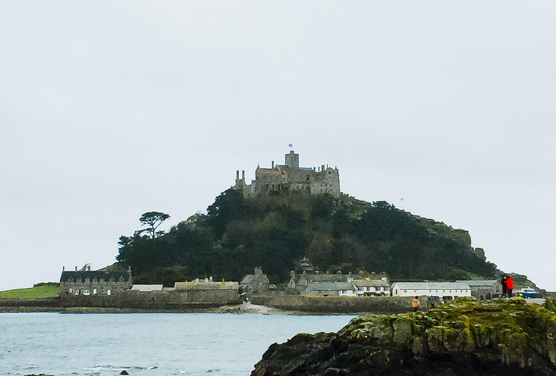 Saint Michaels Mount in Cornwall