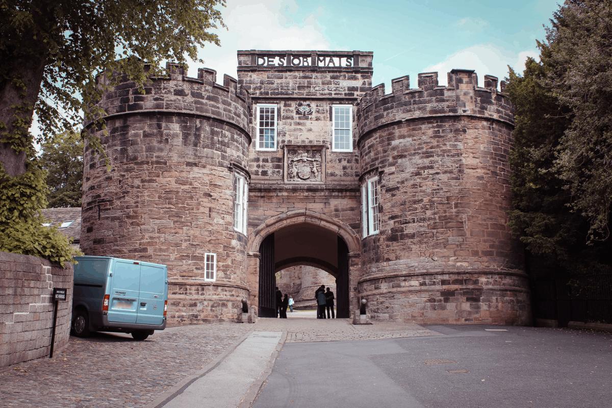 Skipton Castle in Yorkshire