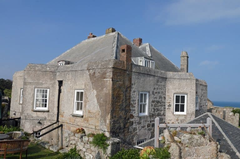 Star Castle on the Scilly Isles