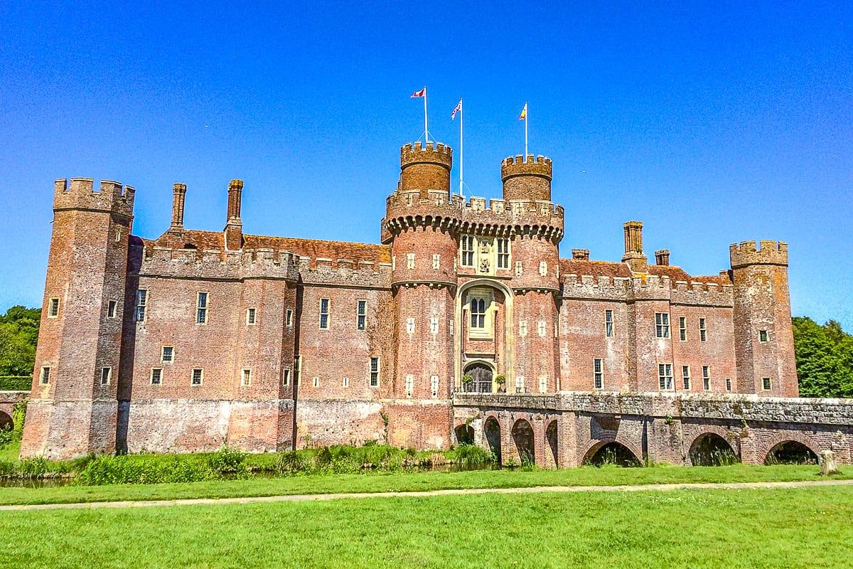 Herstmonceaux Castle in East Sussex
