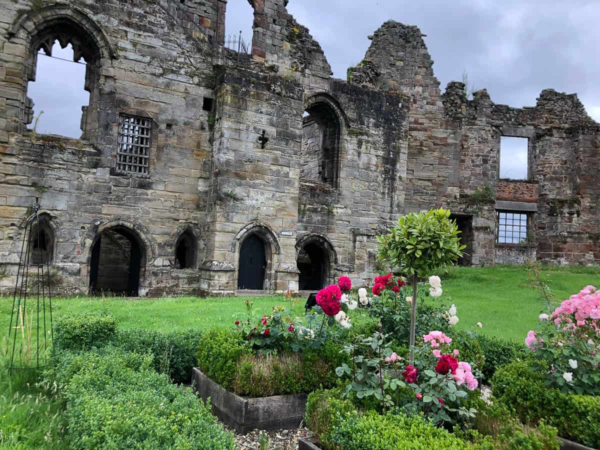 Tutbury Castle in Staffordshire England